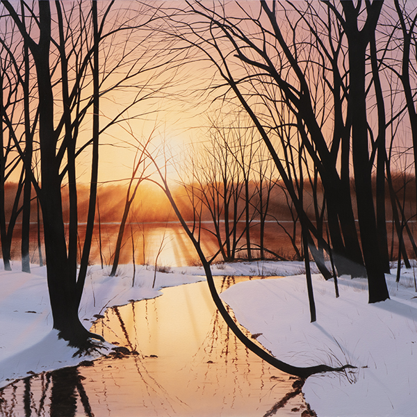 If you're looking for a beautiful landscape painting from Frenchtown, NJ, you've come to the right place